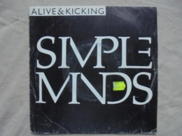Disque Vinyle 45t - SIMPLEMINDS - ALIVE & KICKING - 1985 - Virgin - Rock