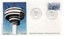 REF X8 FDC First Day Cover Enveloppe 1er Jour Europa Vasconi - 1980-1989