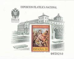 España Prueba Nº 19 Numeracion De La Hoja 49603 - Blocs & Hojas