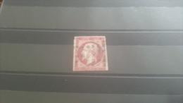 LOT 268127 TIMBRE DE FRANCE OBLITERE N�17A VALEUR 65 EUROS CACHET GROS POINTS