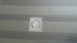 LOT 268143 TIMBRE DE FRANCE OBLITERE N�4 VALEUR 60 EUROS