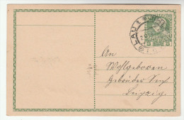 1909 ILLGEN Postal STATIONERY CARD Austria Stamps Cover - Stamped Stationery