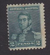 Argentina, Scott #104, Mint Hinged, San Martin, Issued 1892 - Argentine