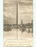 Pre-1907 Very Early View - WASHINGTON MONUMENT Washington DC N5737 - Washington DC