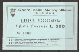 1982 - SIENA  LIBRERIA PICCOLOMINEA