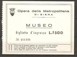 1982 - SIENA  museo del DUOMO