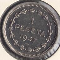 GOBIERNO DE EUZKADI 1 PESETA 1937 - Republican Location