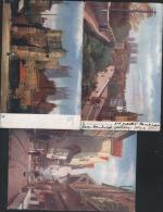 3 THREE YORK ART DRAWN POSTCARDS  RAPHAEL  Tuck Oilette - York