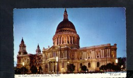 N1259 ST. PAUL CATHEDRAL, LONDON ( Night, Nuit, Notturno )  Nice Stamp With Queen - Bollo Corona Inglese - St. Paul's Cathedral