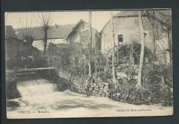 Oreye -  Le Moulin  En Gros Plan.   2 Scans. - Oreye