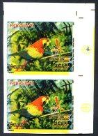 PARAGUAY - BIRDS Mi # 5011 Pair Imperforate Colour Proof VF - Paraguay