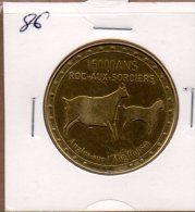 Monnaie De Collection FranceMédailles : 15000 Ans Roc-aux-Sorcières - Touristiques