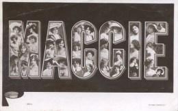 NOVELTY -  LARGE LETTER MAGGIE Nov45 - Firstnames