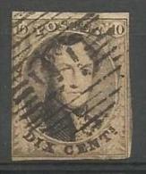 Belgique - Médaillons N°10A(1) Obl. P16 Beveren