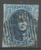 Belgique - Médaillons N°11A(1) Obl. P20 Bouillon