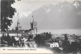 LAUSANNE - SUISSE -   Vue Générale Depuis BEAULIEU - ENCH33 - - GE Genève
