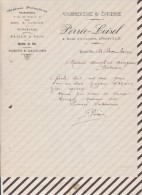 Facture / Courrier 1911 PERREE LOISEL GRANVILLE GRAINETERIE EPICERIE - Frankreich