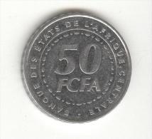 50 FCFA Banque Des états D'Afrique Centrale 2006 - Coins