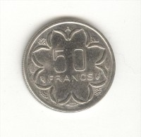 50 FCFA Banque Des états D´Afrique Centrale 1996 TTB - Coins