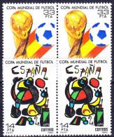 ESPAGNE 1982 YT N° 2272 Et 2273 ** - 1981-90 Unused Stamps