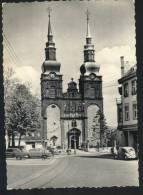 (9828d) - Eupen - Eglise St-Nicolas  + Autos Et VW Coccinelle - Eupen