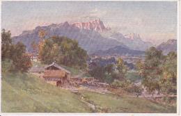 AK E. T. Compton - Untersberg Schönau (17351) - Schilderijen