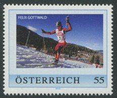 ÖSTERREICH / PM Felix Gottwald / Postfrisch / MNH /  ** - Personalisierte Briefmarken