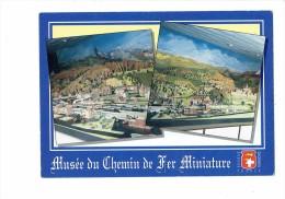 14 - Clecy - Musée Du Chemin De Fer Miniature - Maquette De Trains - Fête Foraine Manège Grande Roue - Locomotives - Ouvrages D'Art