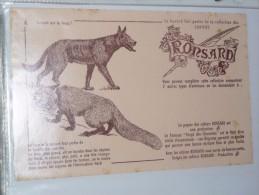 Buvard Publicitaire Cahier RONSARD Qui Est Le Loup 6 - Stationeries (flat Articles)