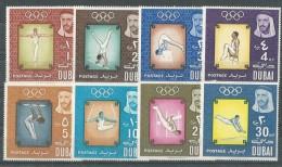 Dubai - UAE 1964 Olympic Games Tokyo Japan Sports LOT MNH - Dubai