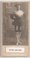 """DOUBLE AUTOGRAFO DÉDICACÉ AUTOGRAPHED """"BERTHE & MIGNON HETTE"""" VINTAGE 1900 EXCLUSIVE NON CIRCULEE GECKO - Autographes"""