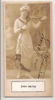 """DOUBLE DÉDICACÉ AUTOGRAPHED """"GABY KERLYS & JANE MARNY"""" VINTAGE 1900 EXCLUSIVE NON CIRCULEE GECKO - Autogramme & Autographen"""