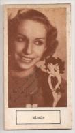"""DOUBLE AUTOGRAFO DÉDICACÉ AUTOGRAPHED """"MINNIE (BETTIE BOOP VOICE) & BLAKIE"""" SIGNÉ 1930 EXCLUSIVE NON CIRCULEE GECKO - Autographes"""
