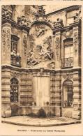 ROUEN - 76 -    Fontaine Du Gros Horloge   - ENCH11 - - Rouen
