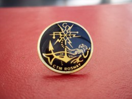 Pin´s Marine Nationale : CTM ROSNAY - Militair & Leger