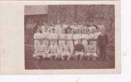 UNIDENTIFIED SPORTING TEAM POSTCARD. 1921 - Postcards