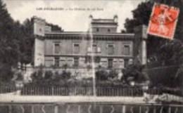 411Po    13 Les Aygalades Le Chateau Du Roi René Le Jet D´eau (vue Pas Courante) - Frankreich
