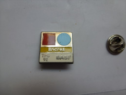 Beau Pin´s En Zamac , Encres BASF - Pin