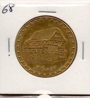 Monnaie De Collection FranceMédailles : Alsace - Touristiques