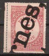 5 Cent AFFICHES / AANPLAKBRIEVEN Met Bijkomend GRIFFE  ! ZELDZAAM ! - Revenue Stamps