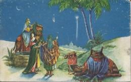NOVELTY - CHRISTMAS PANEL CARD Nov67 - Christmas