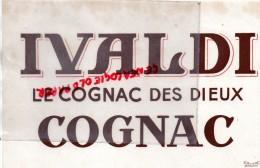 16 - COGNAC - BUVARD IVALDI - LE COGNAC DES DIEUX - Food