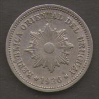 URUGUAY 2 CENTESIMOS 1936 - Uruguay