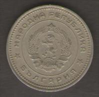 BULGARIA 20 STOTINKI 1962 - Bulgaria