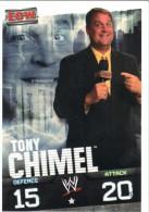 Slam Attax ECW - Tony CHIMEL - Sports De Combat