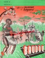 33 - COUTRAS  - RARE PROTEGE CAHIER BAUDOU - BOTTES CHAUSSURES- BOTTE CAOUTCHOUC- FERME AGRICOLE VACHE - Chaussures