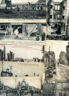 7191 -  Guerre 1914, Lot De 75 Cpa Reims , Animations, Destructions, Enseignes, Quelques Cartes Plus Rares - Reims