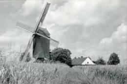 HUISE (O.Vl.) - Molen/moulin - De Malende Huisekoutermolen In 1989, Overgebracht Uit Waregem. Topkaart! - Zingem
