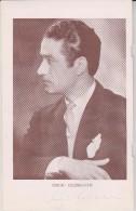 !!!!2 Signatures!!!  Sergiu Celibidache And  Eileen Joce Royal Philharmonie Orchestra   Winter Garden Eastbourne 1949 - Autographs