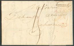 LAC De LESSINES (manuscrit) Du 21 Janvier 1832 + Càd De ATH Vers Charleroi - 10777 - 1830-1849 (Belgique Indépendante)